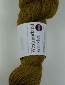 alpaca wool worsted yarn mustard