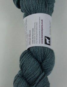 alpaca wool worsted yarn blue