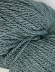 alpaca wool worsted yarn blue