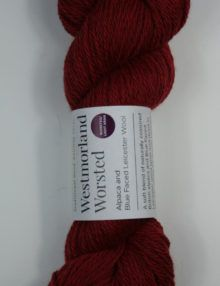 Alpaca wool worsted yarn