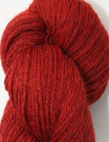 alpaca wool sock yarn madder red
