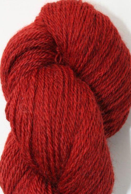 alpaca wool sock yarn madder red