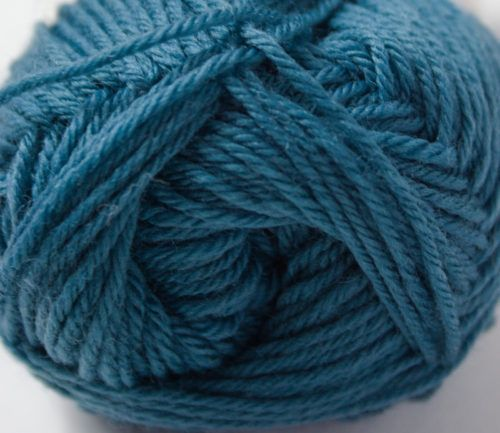 Merino 4ply yarn teal