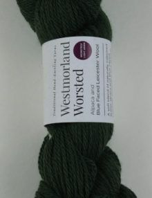 alpaca wool worsted yarn green