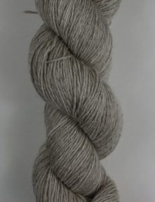 Poldale silk wool 4ply knitting yarn grey