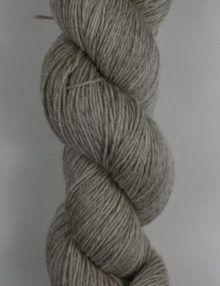 Poldale silk wool 4ply knitting yarn grey