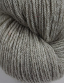 Wool silk 4ply yarn grey