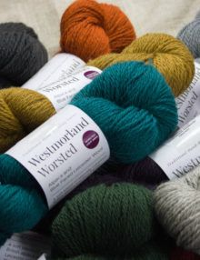 Westmorland Worsted alpaca wool yarn