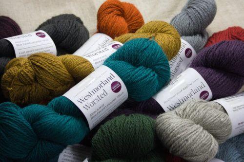 Westmorland Worsted alpaca wool yarn