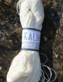 Kalinda Linen Yarn White