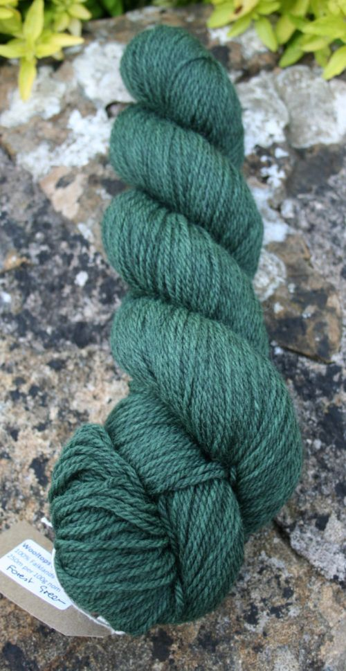 Poldale Woll Dk Forest Green