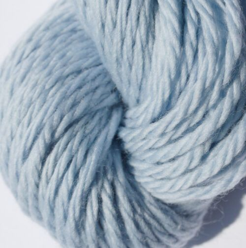 Chunky Merino yarn Frosty Blue