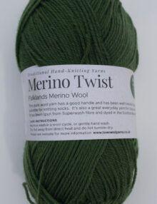 Merino 4ply green