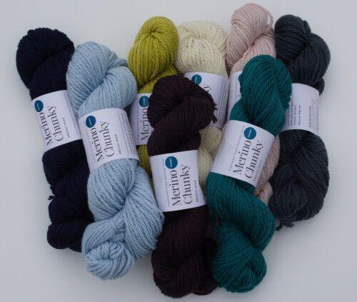 Chunky Merino knitting yarn