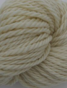 Chunky Merino yarn white