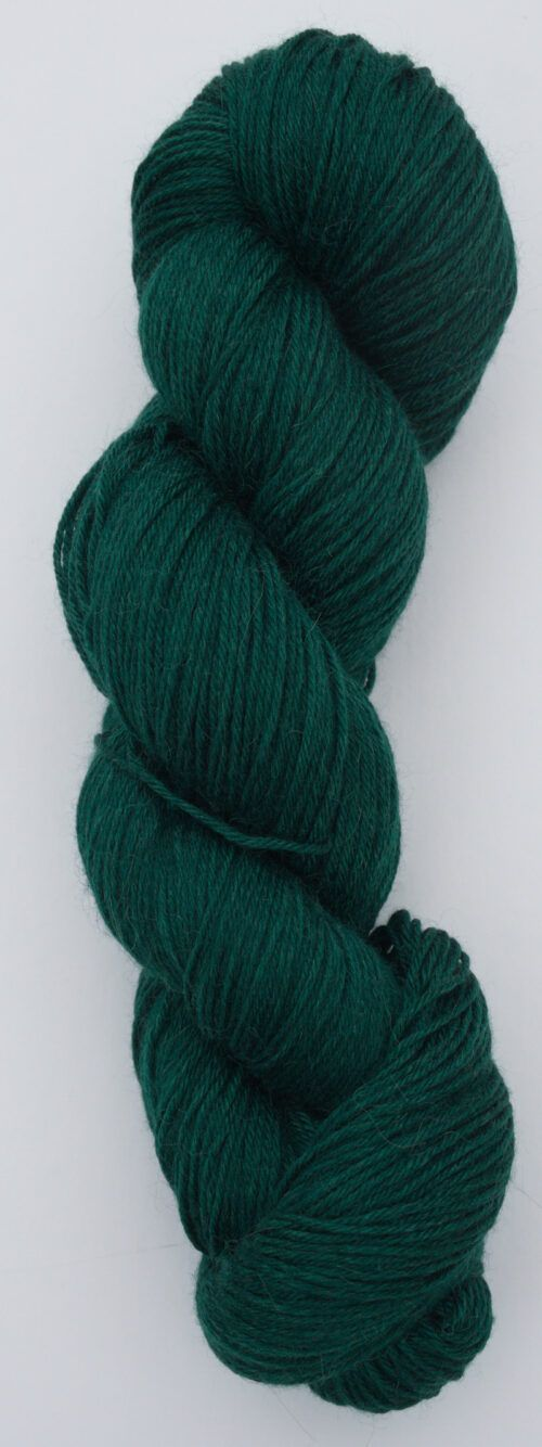 merino alpaca silk fingering yarn green