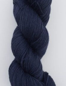 merino alpaca silk fingering yarn navy
