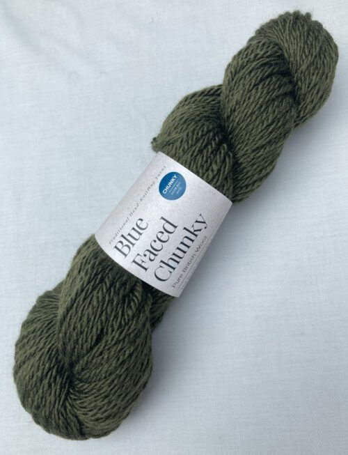 Chunky Blue Faced Leicester Knitting Wool